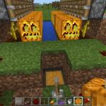 マイクラPE!かぼちゃ・すいかの自動収穫・回収機を作ろう。