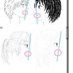 イラストの特訓その4「顔の描き方!横顔」