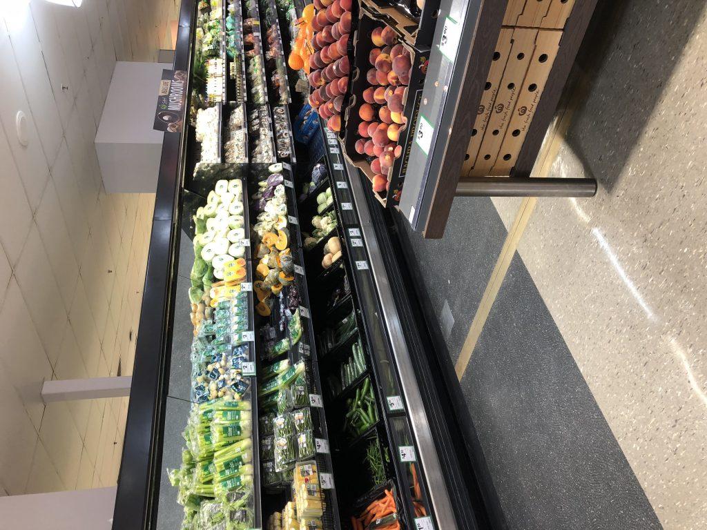ケアンズの野菜、果物