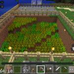 マイクラPEで小麦の自動収穫・自動回収機を作ろう!