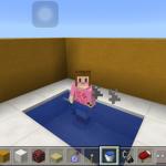 マイクラPEで温泉みたいに湯気の出るお風呂の作り方