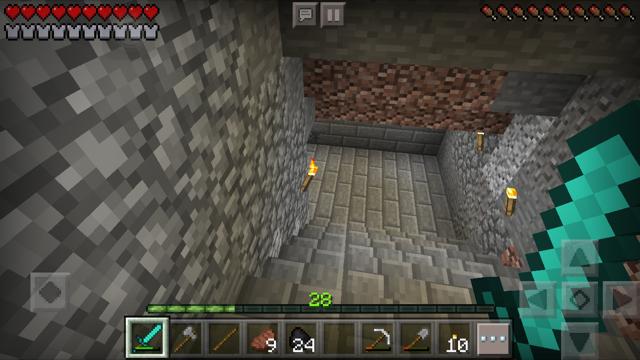 「マイクラ 洞窟 階段」の画像検索結果