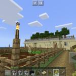 【統合版マイクラ】旦那島へ行ったら、砂岩王国を作りつつ、村人で怪しげな事をしていた。#13